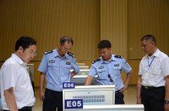 6月30日昆明市车管所领导莅临参观云南东方时尚