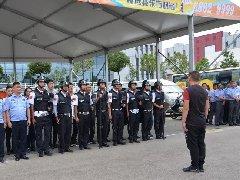 东方时尚|开展防暴反恐演练,为校园安全保驾护